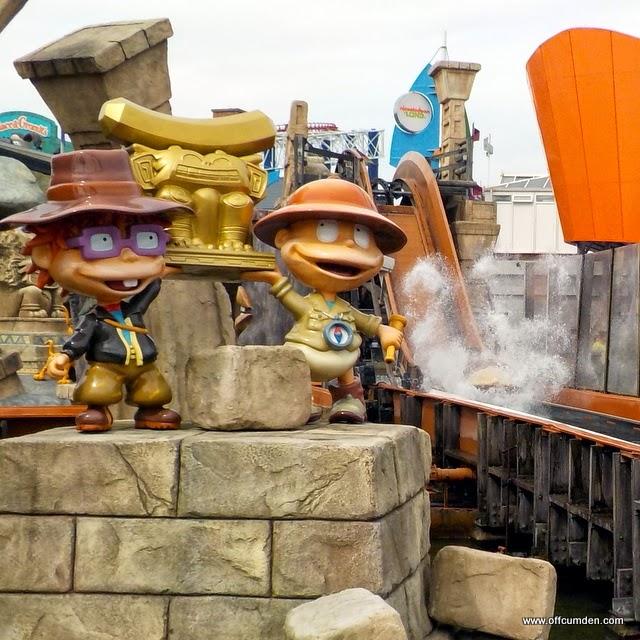 Nickelodeon Land Log Flume