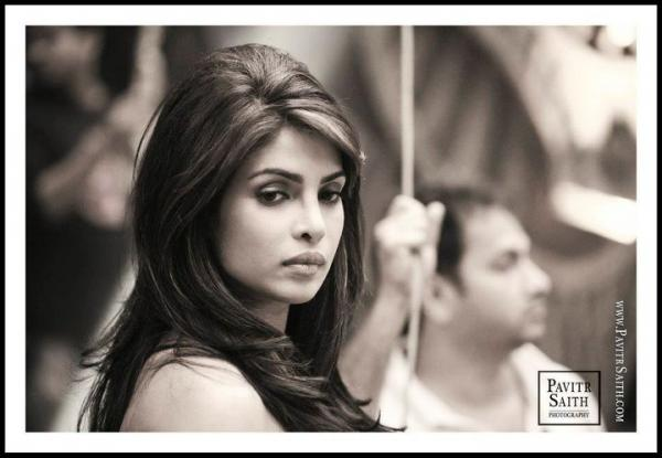 Priyanka Chopra Hair1 - Priyanka Chopra's shoot for Pavitr Saith