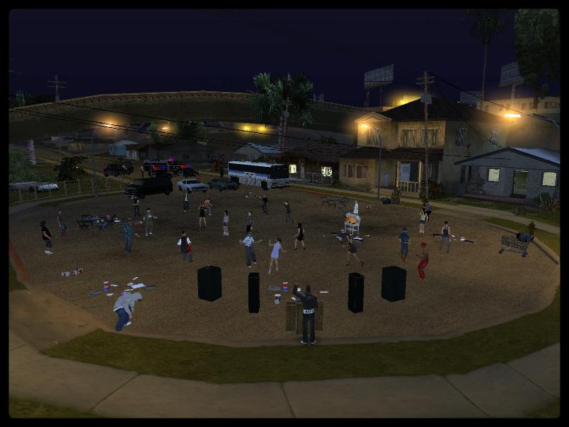 GTA SA - Festa Projeto X Na Grove Street