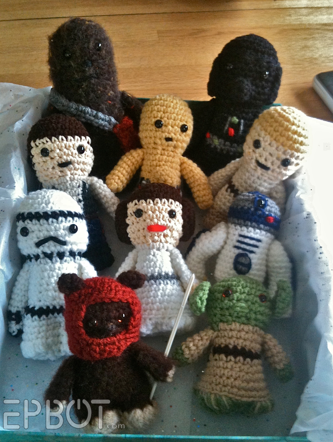 Free Crochet Star Wars Doll Patterns : EPBOT: 4/29/12 - 5/6/12