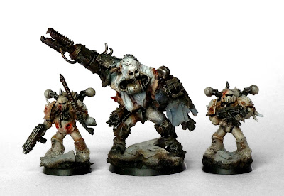 Showcase Chaos Lords Of Decay Renegade Ogryn Beserker