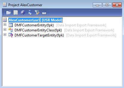 data import/export framework manuals