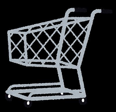 ショッピングカートのイラスト(買い物)