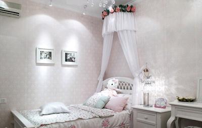 habitación romántica para chica