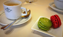 Macarons and express after lunch
