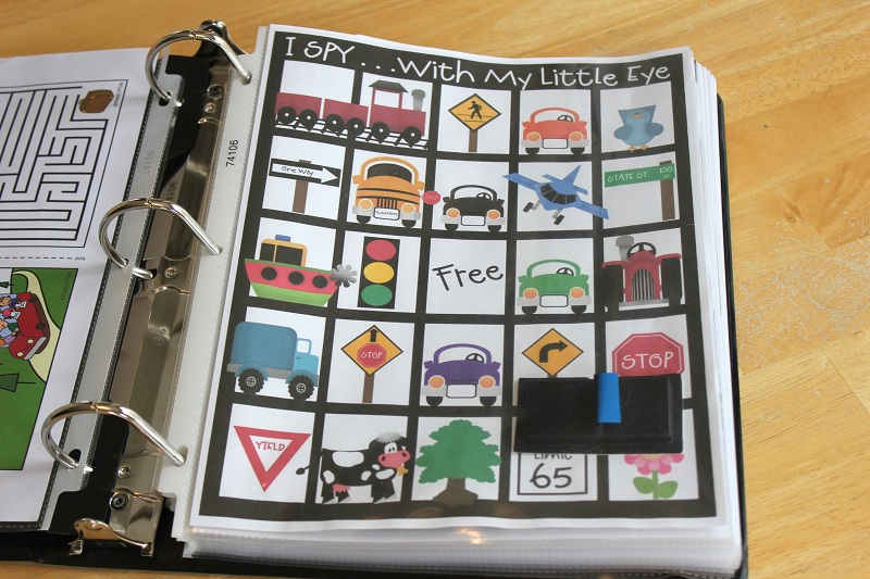 printable car travel games and ideas for keeping kids happy and content on a road trip