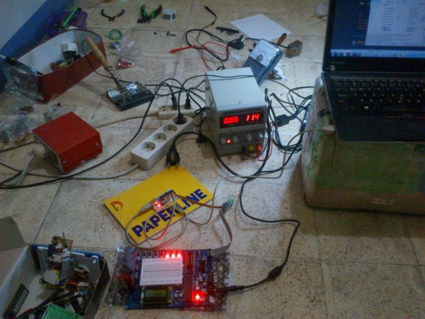 Mulai Belajar Mikrokontroler dengan mega16.h - ATMega16