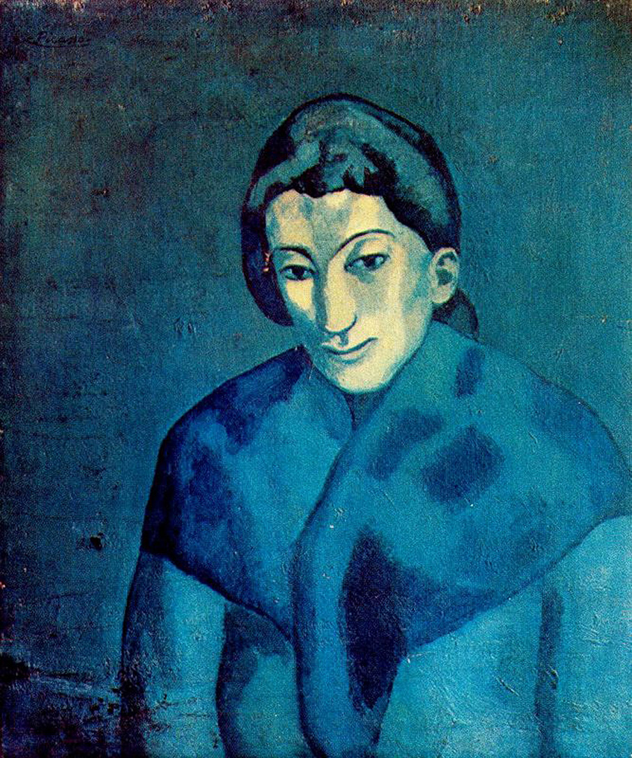 Dongdong 39 s blog research on blue period of picasso - La chambre bleue picasso ...