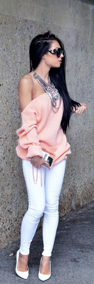 Love the oversized sweater...Everything!!!!!!!