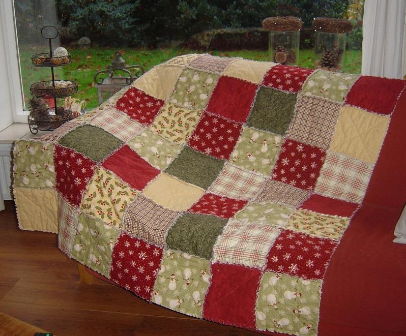 Atelier hartendief rag quilts in alle soorten for Quilt maken met naaimachine