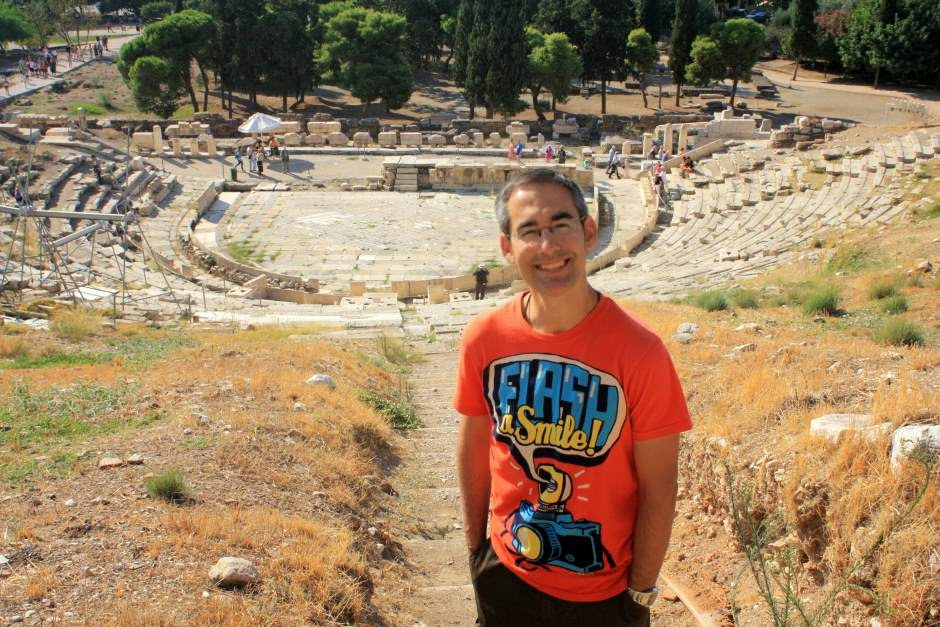 Theatre of Dionysos in Athens