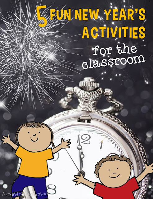 5 Fun New Year's Activities for the Classroom | Around the Kampfire