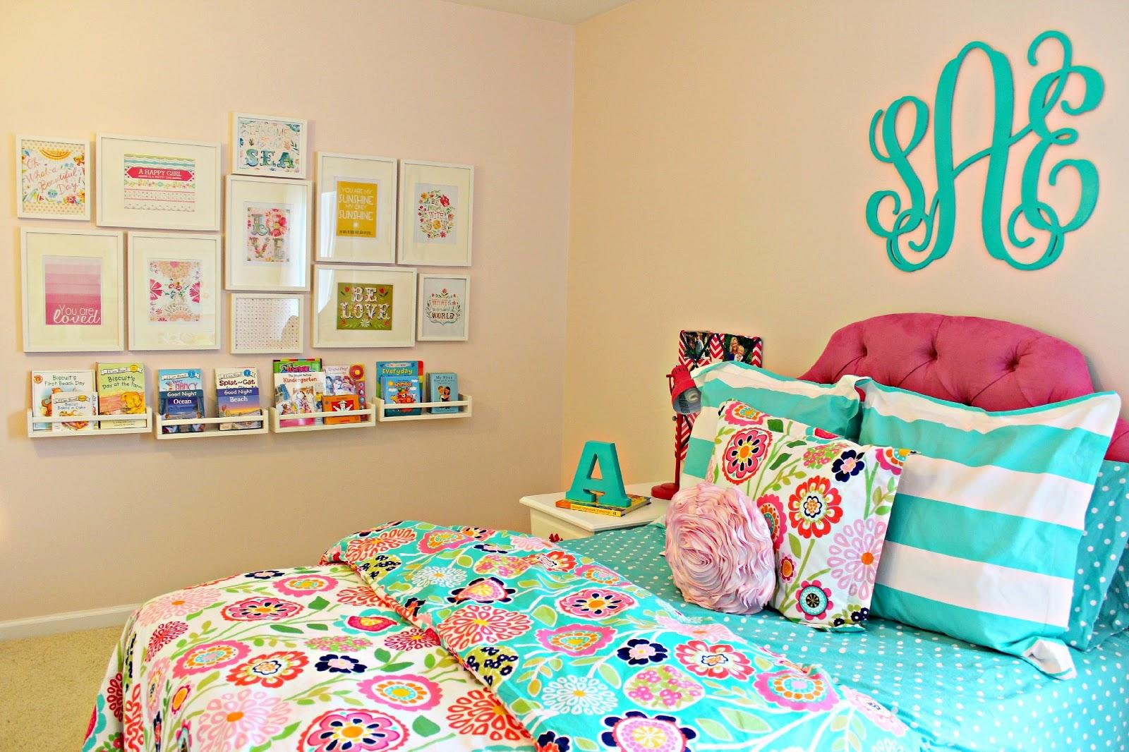 Carolina On My Mind Big Girl Bedroom Ikea Spice Racks As Bookshelves