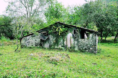 Casa abandonada junto al Ro Filobobos, Tlapacoyan.