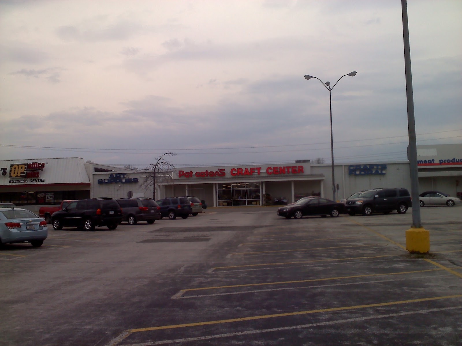 Dead and dying retail former kmart and rini rego in for Pat catan s craft center