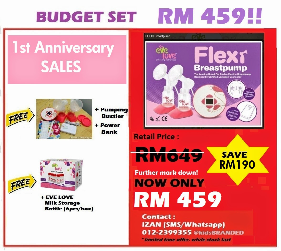 EVE LOVE FLEXI BUDGET
