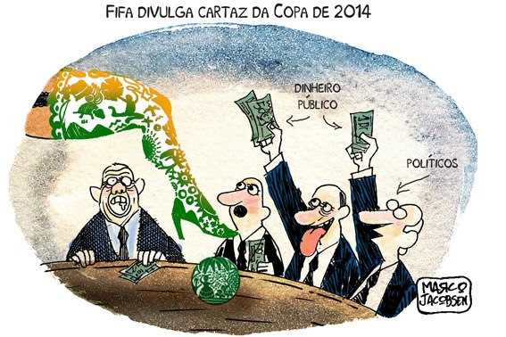 FIFA Divulga cartaz da Copa 2014