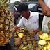 Descascar abacaxi é difícil? Não para esse vendedor!