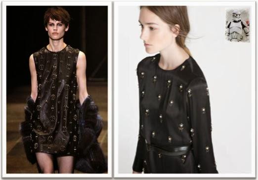 Clon vestido Saint Laurent