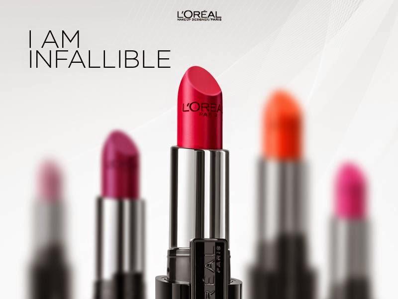L'Oreal Paris Infallible Lipsticks, I am Infallible, Lipsticks, Loreal in India