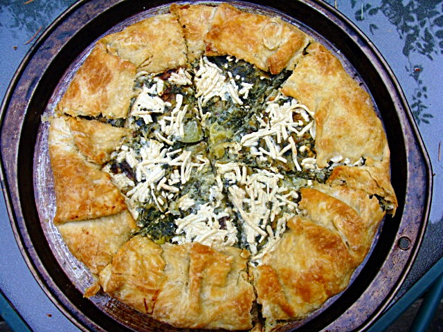 ... an italian savory vegetable tart or pie made with olive oil pastry