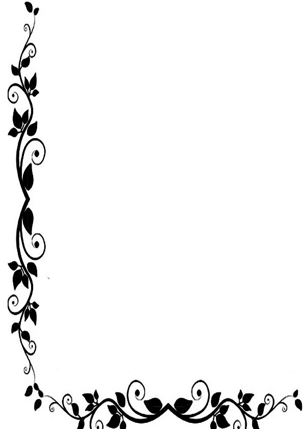 Flores en negro