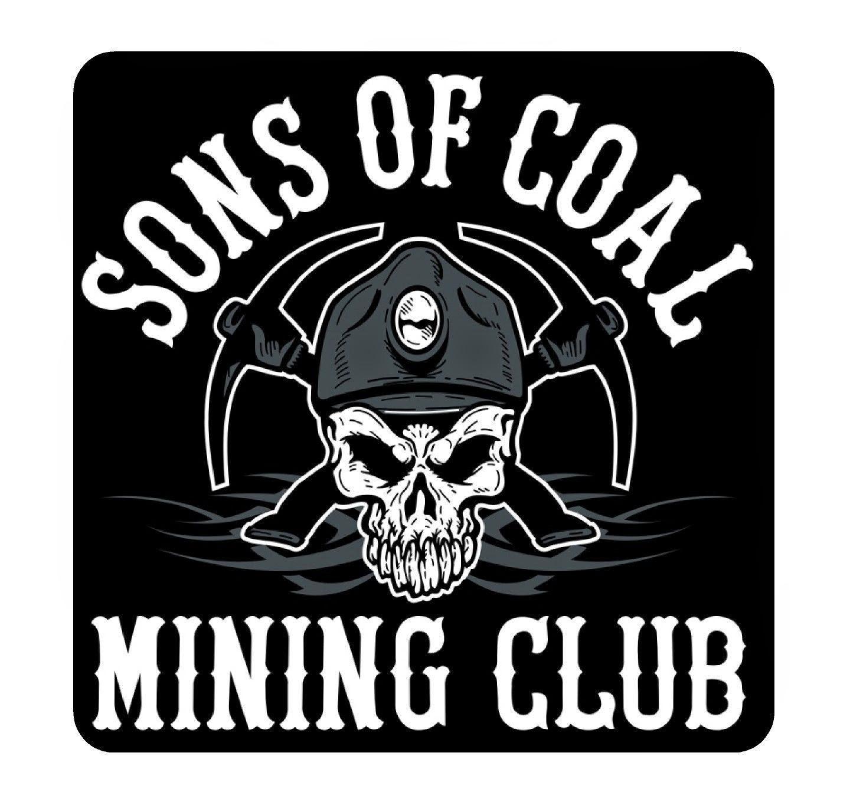 Coal Miner Hat Clipart Sons of coal mining club hard