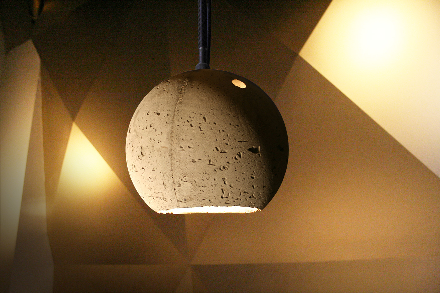 Jocundist Concrete Lamp