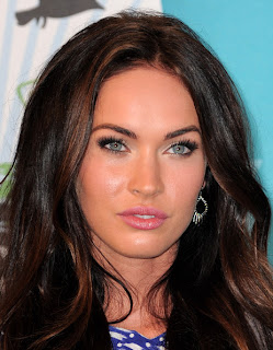Megan Fox Long Wavy Hairstyle