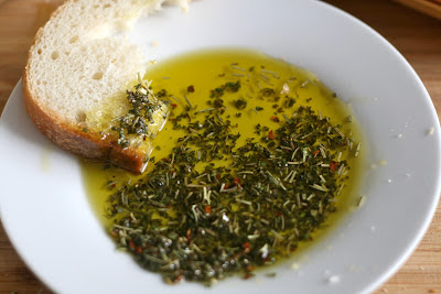 Bake - a - holic: Herb and Olive Oil Dip