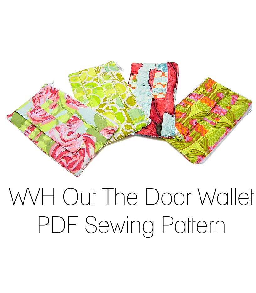 Wood Violet Handmade: New PDF Pattern for The Out The Door Wallet