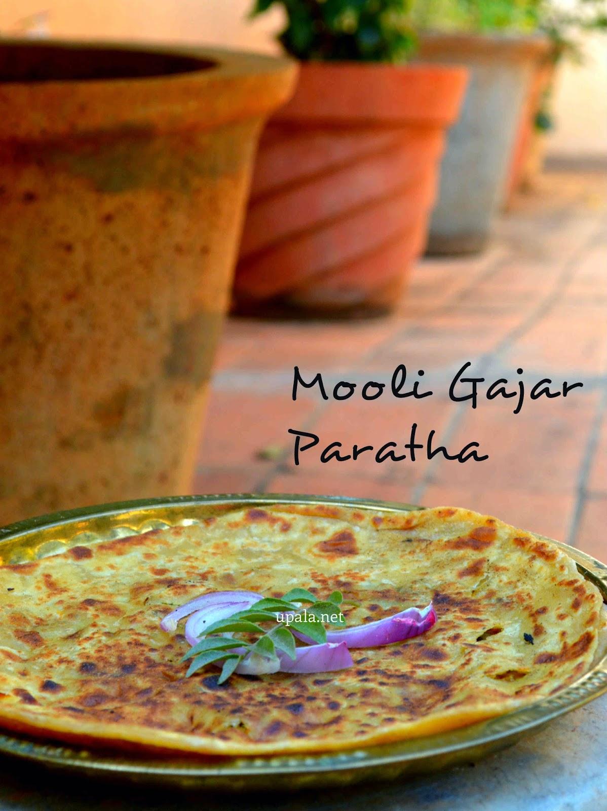 mooli gajar paratha