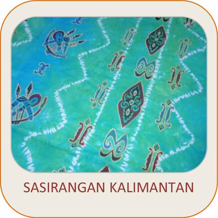 Batik Sasirangan Kalimantan
