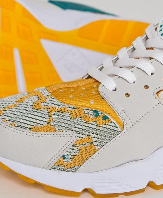 6557068eb7f8 ... ireland here is a detailed look at the nike air huarache run pa canyon  gold shoe