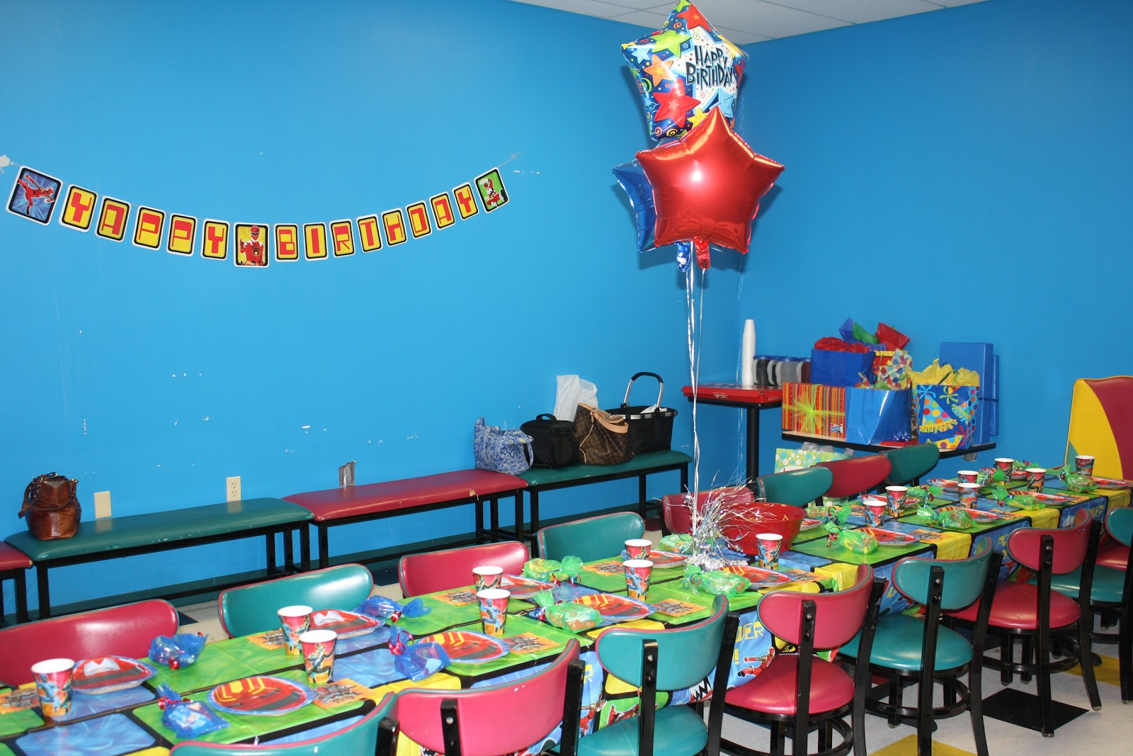 Power Rangers Birthday Party Ideas for Games and
