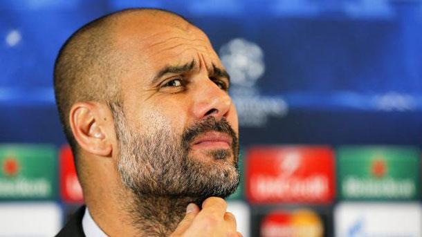 Pep Guardiola acabó algo tenso tras el Juventus-Bayern