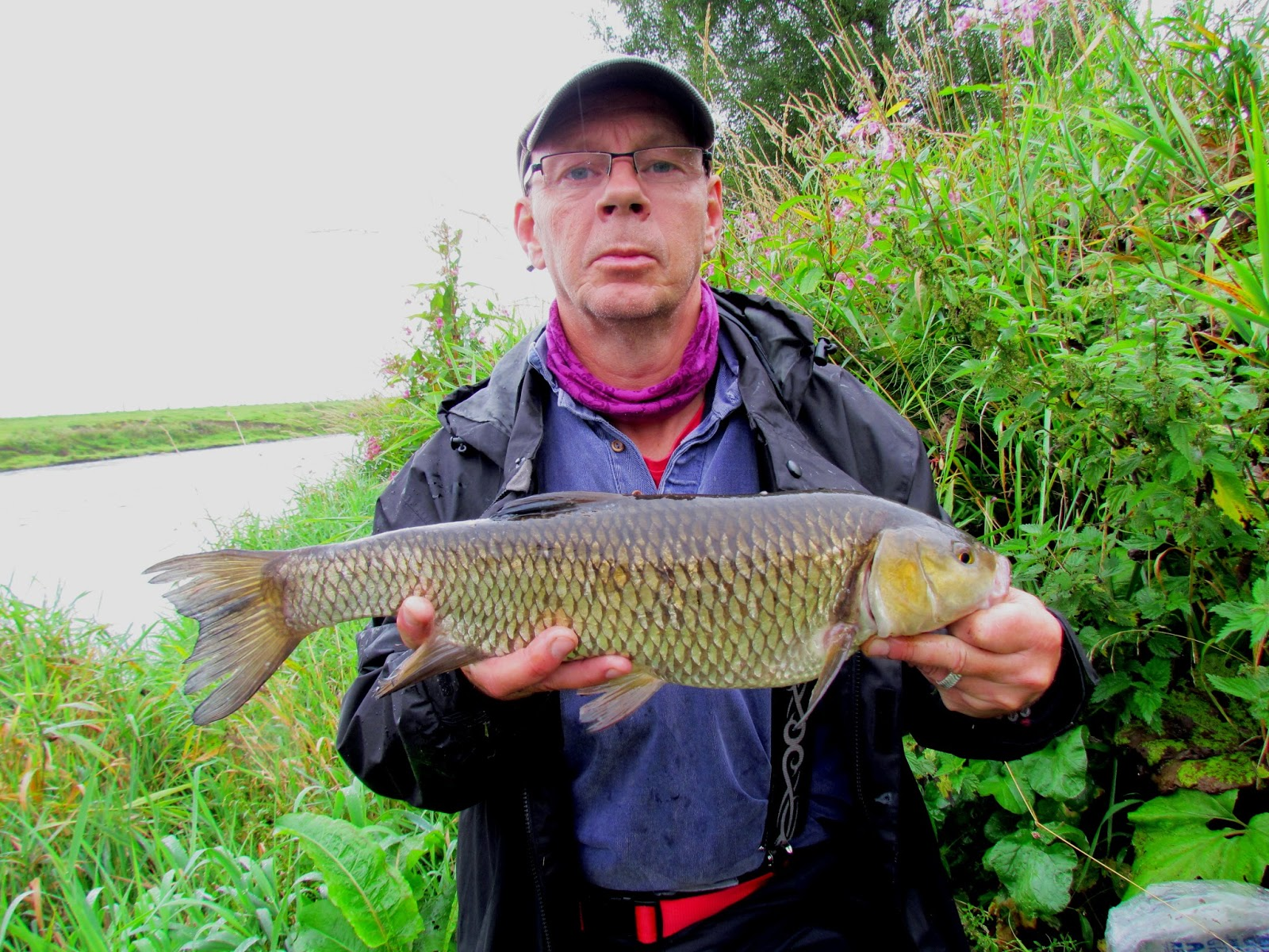 Finesse fishing mixed bag for Bass fishing in the rain