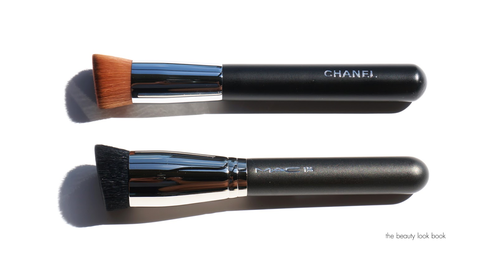 mac liquid foundation brush. below you can see the mac has shorter bristles while chanel longer ones: mac liquid foundation brush \