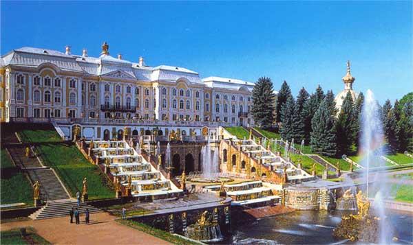 Palacio de Peterhoff de San Petersburgo