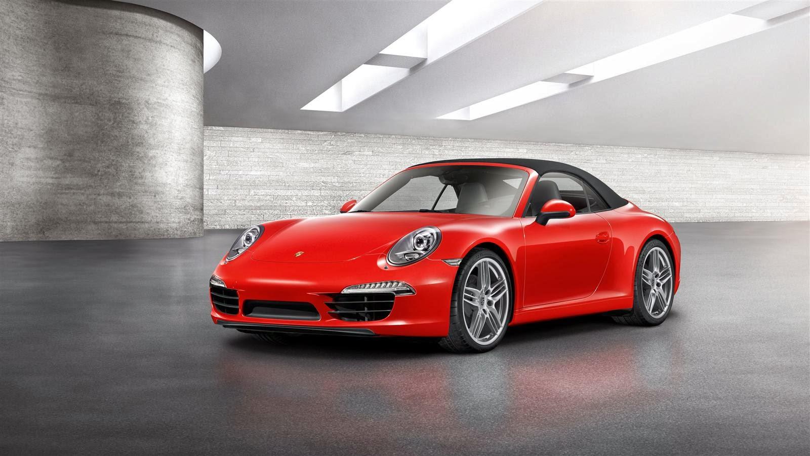 Porsche 911 Carrera Cabriolet Exterior
