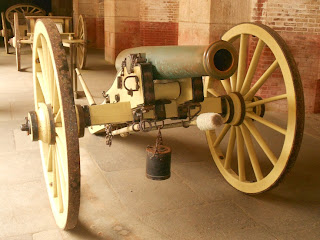 cannons at fort point