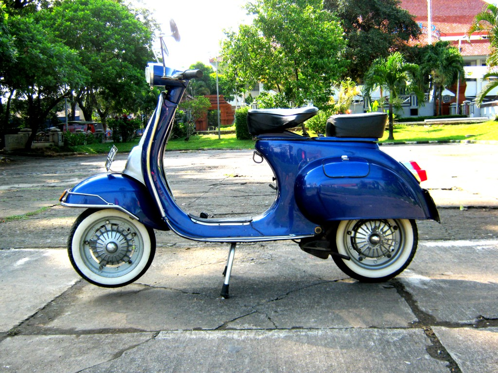 Modifikasi vespa super apps directories - Vespa Pts 100 1980 Vespa Super 1966