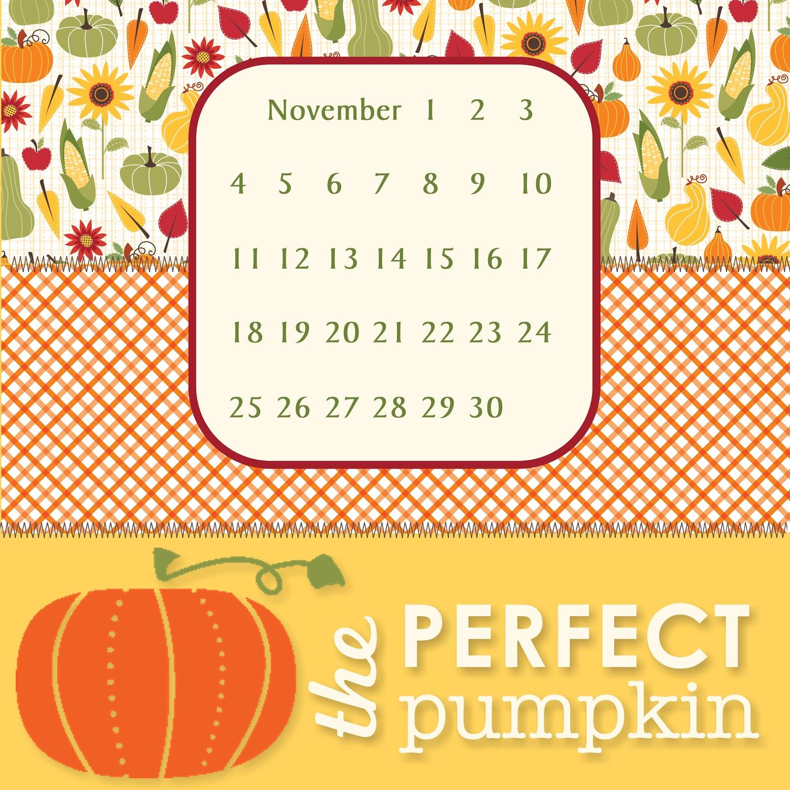 November Calendar Background   Calendar Template 2016