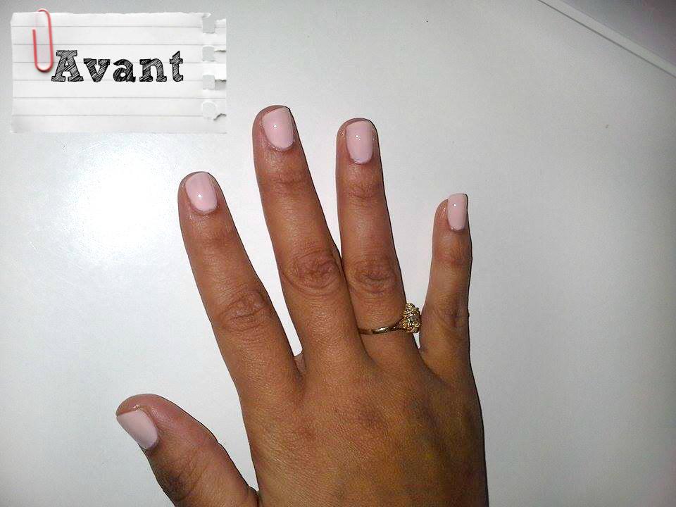 fluffy nails ongles en gel avant apres r sultat naturel transformation compl te sur sabrina. Black Bedroom Furniture Sets. Home Design Ideas