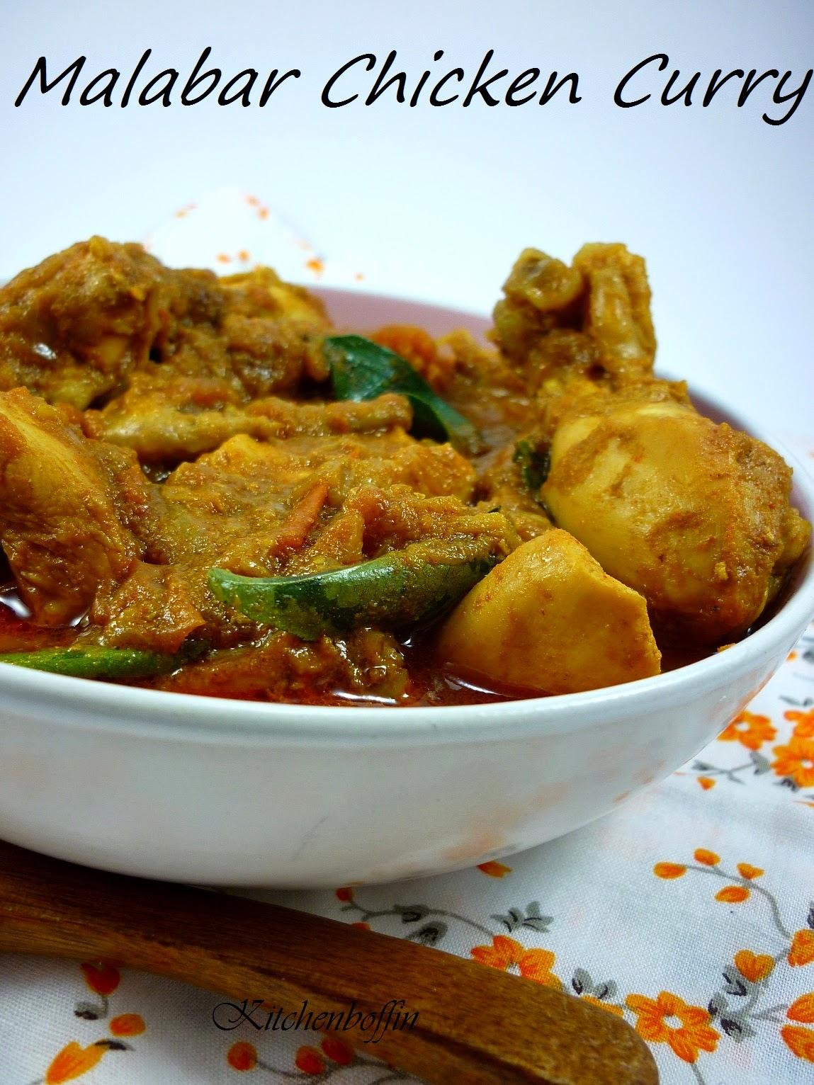Kitchen BoffinMalabar Chicken Curry