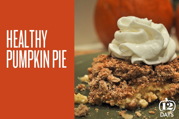 Createlive: Healthy Upside Down Pumpkin Pie