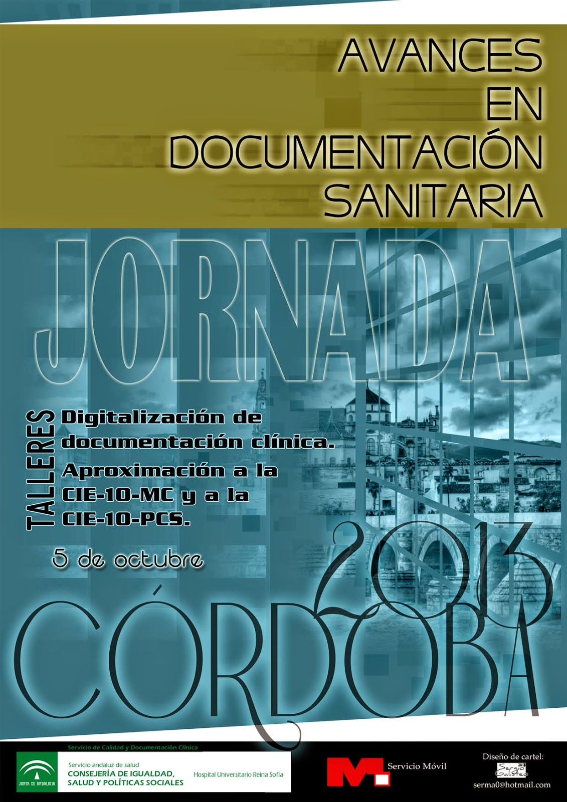Cartel Jornada Avances en documentación sanitaria