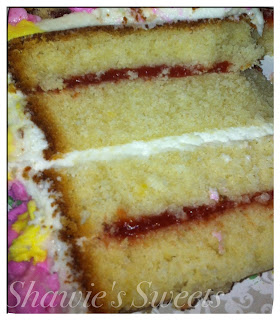 Layer Cake With Guava Paste