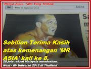 Metro 24 Sept 2012,Sebilion Terima Kasih Mr Asia 2012 kali ke8 Malaysia Boleh Nu-Prep100 long jack