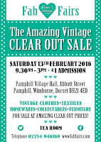 Fab Fairs Amazing Vintage Clear out Sale